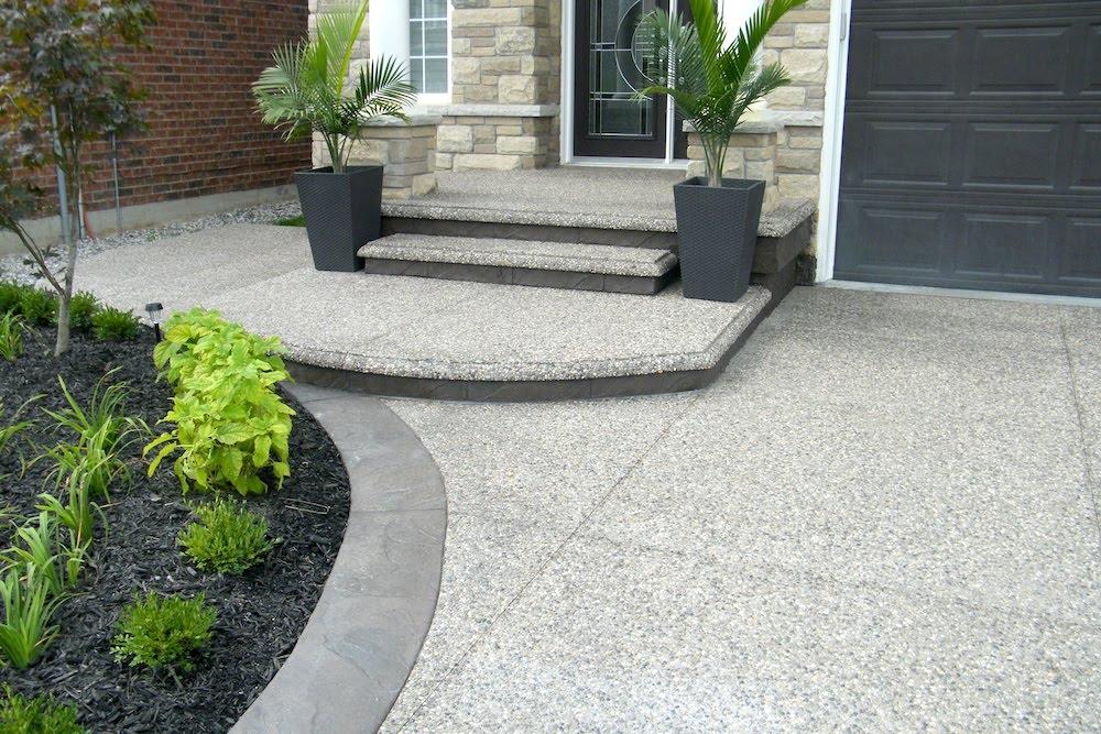 Aggregate steps